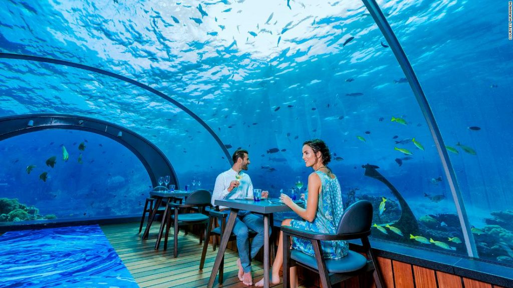 Underwater Hotel In The Maldives Discovery Sense Travels